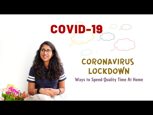 COVID-19 Lockdown   Be Sensible and Stay Sane   Stay Home And Fight Coronavirus