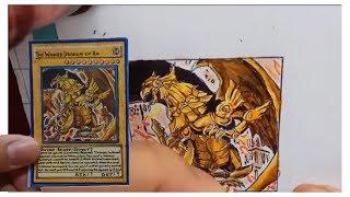 Drawing Yugi-Oh Card - The Winged Dragon of Ra | Vẽ bài Yugioh - Rồng thần có cánh Ra