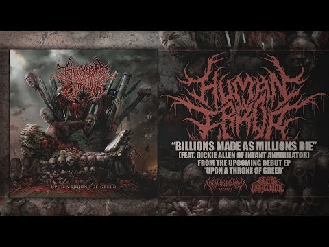 HUMAN ERROR - BILLIONS MADE AS MILLIONS DIE (FEAT. DICKIE ALLEN) [SINGLE] (2017) SW EXCLUSIVE