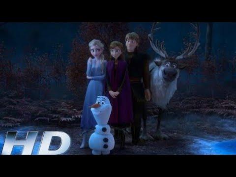 Холодное Сердце 2 - Олаф рассказывает историю Эльзы и Анны HD