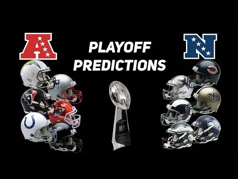 2019 NFL Playoff Predictions