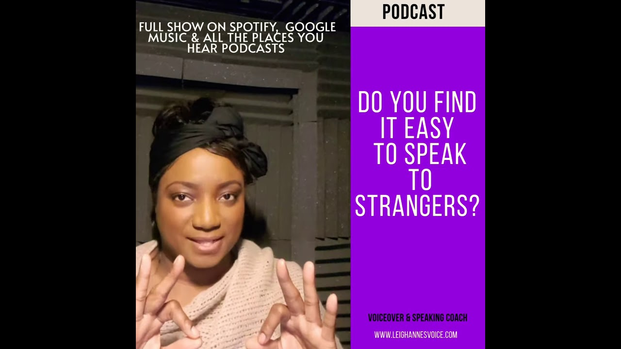 How to start easy Conversations with strangers - YouTube