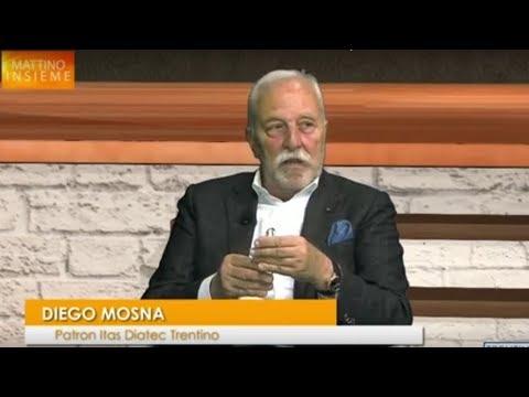 A Trentino Tv con il presidente Diego Mosna