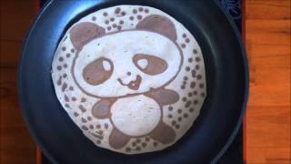 Vẽ trên chảo nóng - Fun with Pancake Art