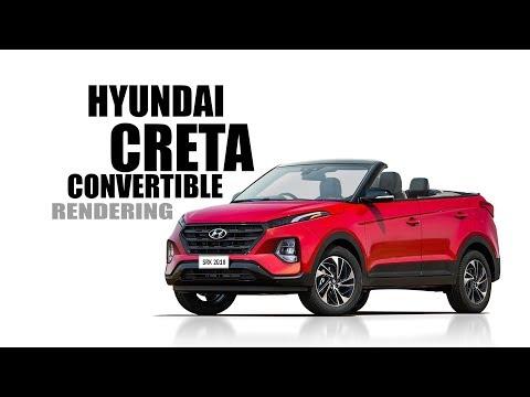 Hyundai Creta Convertible Concept - Rendering - Making Video   SRK Designs