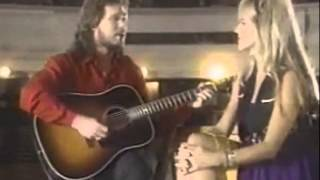 Travis Tritt and Carlene Carter - Golden Ring (acoustic)