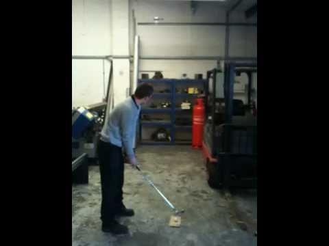 Des Johnstone Cumbria Workshop golf swing