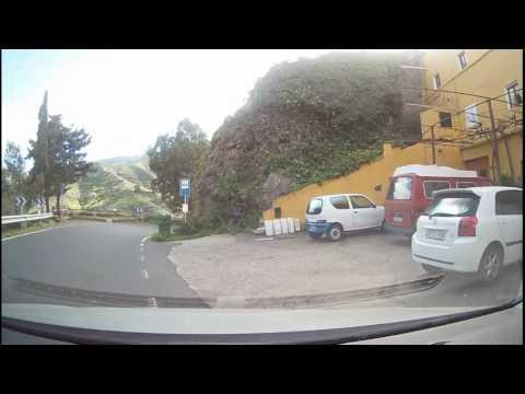 Gran Canaria 20170304 von Vega de San Mateo über Telde nach Maspalomas über Landstraße