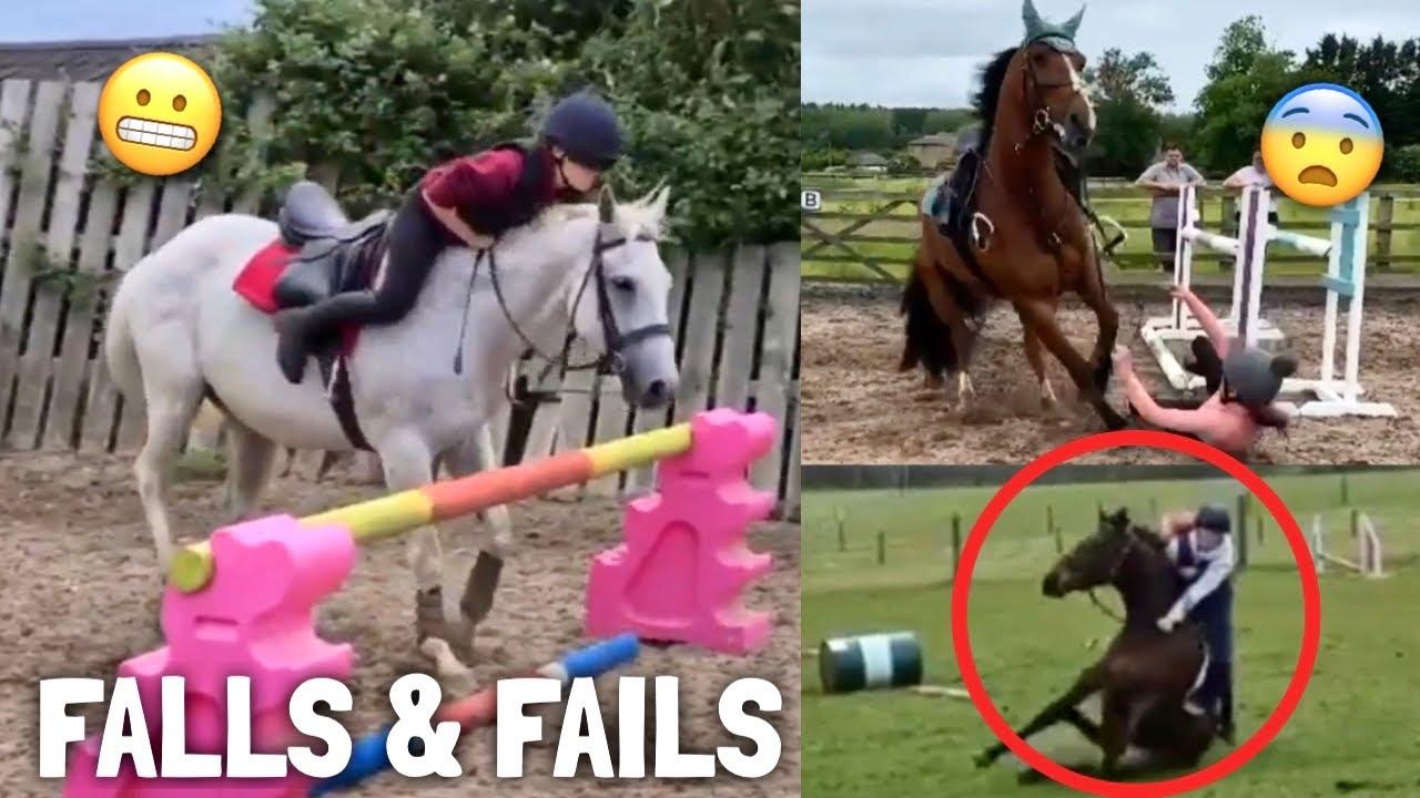 horse FALLS & FAILS   Subscriber Edition   equinemollie