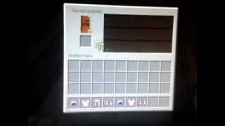 Minecraft, как сделать зачарованную броню.mp4