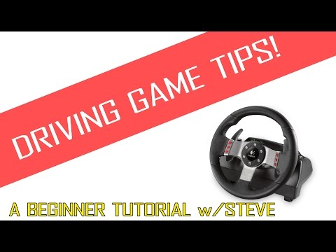 Driving Game Tips - Beginner Tips on Driving in Video Games