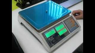 Обзор торговых весов Mercury M-ER 323C(Видео обзор торговых весов бюджетного класса Mercury M-ER 323C. Страница товара на нашем сайте http://possystema.ru/catalog/vesovoe..., 2012-09-29T14:57:48.000Z)