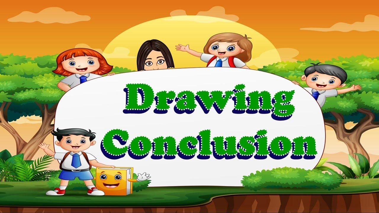 hight resolution of Drawing Conclusion   TeacherBethClassTV - YouTube
