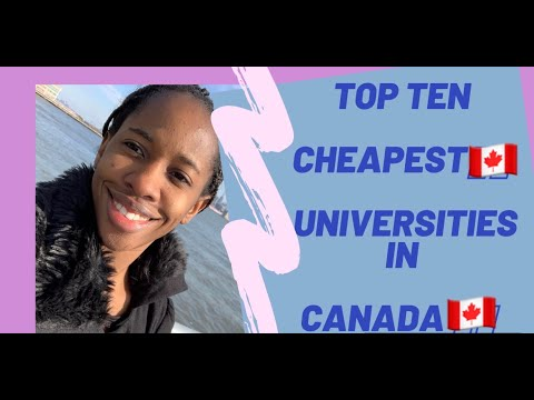 Top Cheapest Universities In Canada🇨🇦