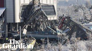 Fatal train crash in Turkey