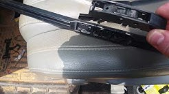 2007-2013 Toyota Tundra or Toyota Sequoia wiper blade replacement