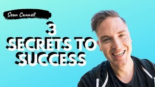 Sean Cannell 3 Secret to Success Growing Your Youtube Channel