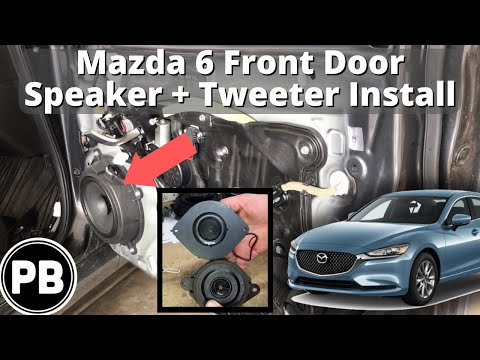 2014 – 2020 Mazda 6 Front Speakers Install   Skar Audio
