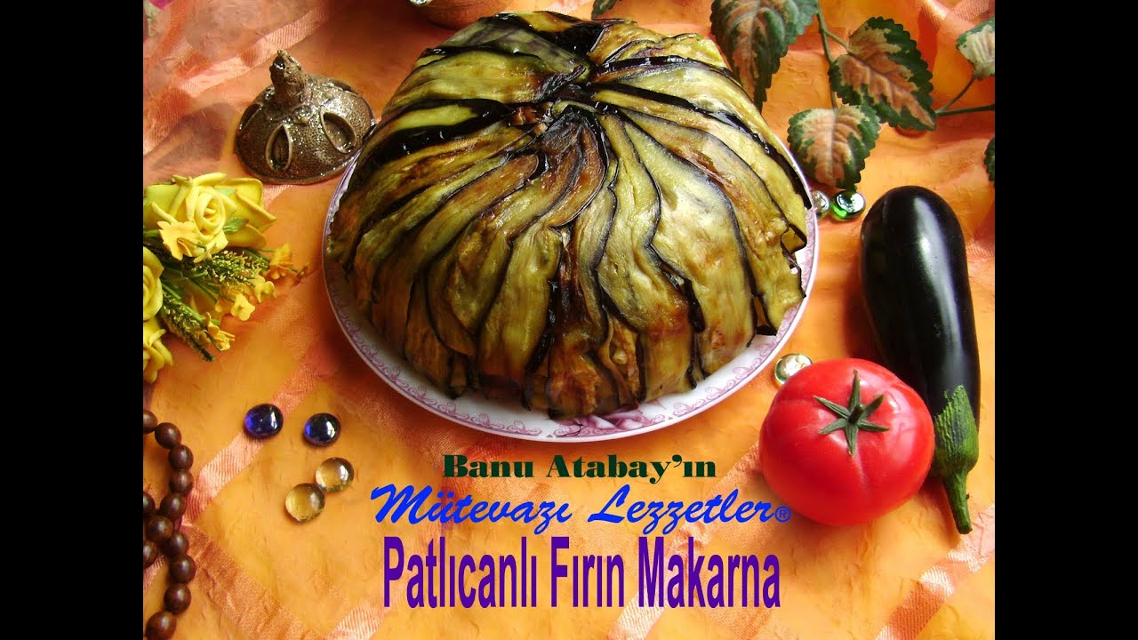 Kıymalı Patlıcanlı Fırın Makarna Tarifi