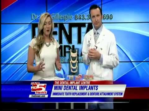 Dentures Suck! Dr. Joe Gillespie @ The Dental Implant Center has the Solution