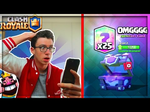 Thumbnail: Clash Royale INCROYABLE PACK OPENING 100 000 GEMMES !!!