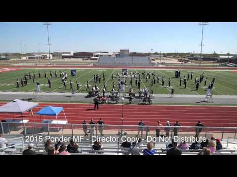 Pilot Point High School Band - Ponder Marching 10/10/15