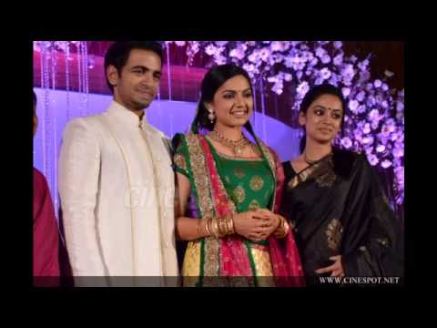 Samvritha Sunil Wedding Reception Youtube