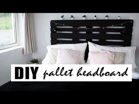 DIY | The perfect pallet headboard