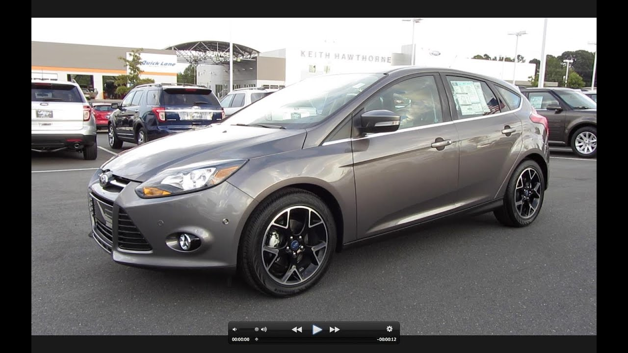 2012 ford focus titanium hatchback start up exhaust a. Black Bedroom Furniture Sets. Home Design Ideas