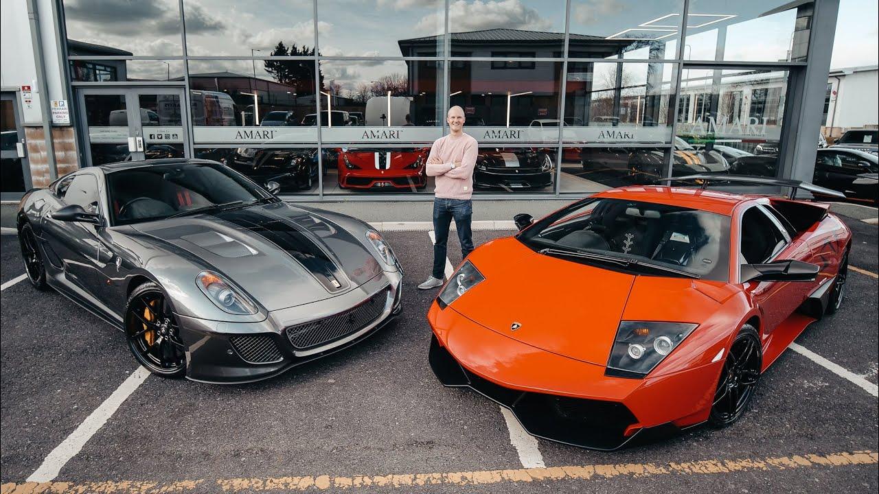 Ferrari 599 GTO vs Lamborghini Murcielago SV [Ultimate V12 Test Drive]