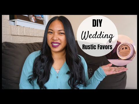DIY WEDDING | RUSTIC WEDDING FAVORS | EASY & AFFORDABLE | Pinay USA | Bianca Figz