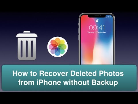 How to Recover Permanently Deleted Photos from iPhone without Backup