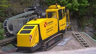 Lienhard GmbH & Co.KG - Felsbohrung durch Granit im Südschwarzwald, Landkreis Waldshut