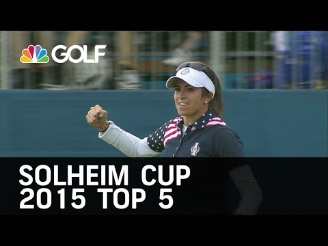 Solheim Cup 2015 Top 5 Moments    Golf Channel