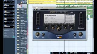 Сведение и обработка звука в программе Cubase 5(урок 2)