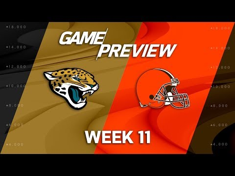 Jacksonville Jaguars vs. Cleveland Browns | NFL Week 11 Game Preview