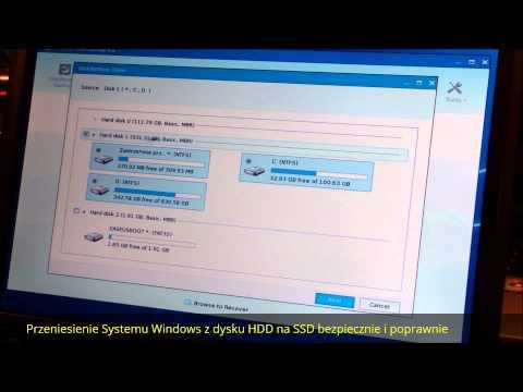 Przeniesienie Systemu Windows z dysku HDD na SSD bezpiecznie i poprawnie