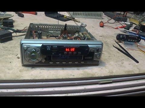Кассетная автомагнитола +аудио модуль с алиэкспрес