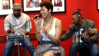 "Carmen Rodgers Performs... ""Sweetest Thing"" By Lauryn Hill... Live... Acoustic Set"
