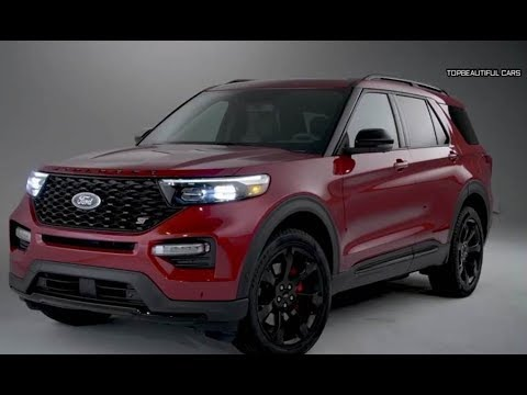 2020 Ford Explorer St Red Specs And Engines Youtube