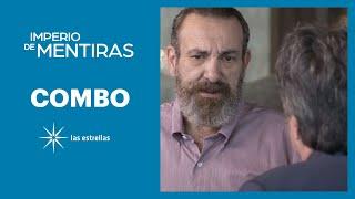 Imperio de mentiras: José Luis y Eugenio planean acabar con Leo | C- 44 | Las Estrellas