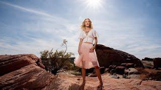 Beautiful Models in the Desert