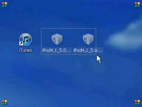How to install older/newer iOS firmware in iTunes