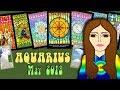 AQUARIUS MAY 2018 Dream Big! Uranus Tarot psychic reading forecast predictions