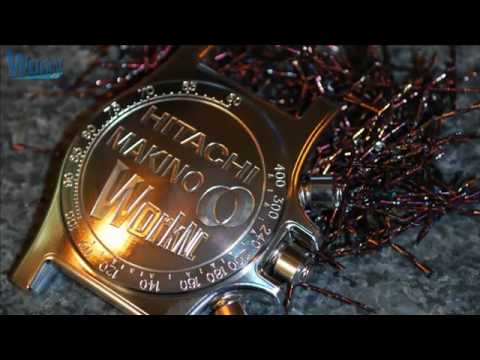 Chrono watch -CNC CAD/CAM machining by Makino/Hitachi Tools/WorkNC