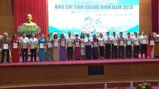 Trao Giải Báo chí tỉnh Quảng Ninh năm 2018