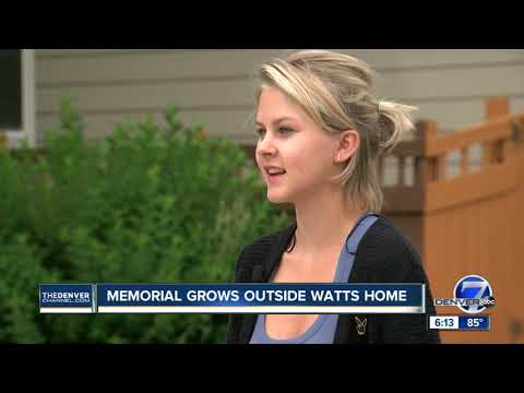 Memorial grows outside Watts family home in Frederick
