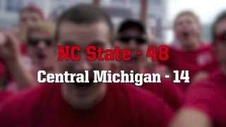 Week 4 - NC State vs Central Michigan