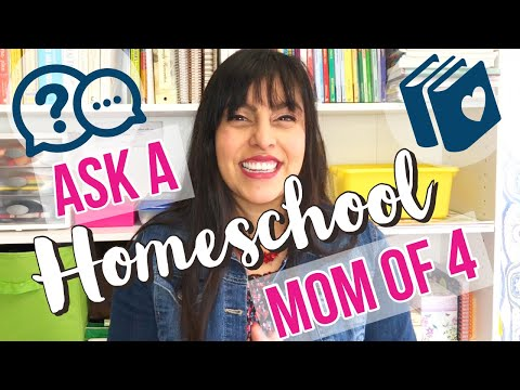 THIS IS THE MOST CHALLENGING THING ABOUT HOMESCHOOLING | and other questions ANSWERED