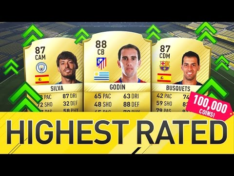 HIGHEST RATED TEAM POSSIBLE FOR 100K COINS!! - FIFA 17 SQUAD BUILDER